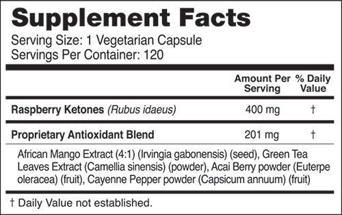Raspberry Ketones Plus+ Subscription