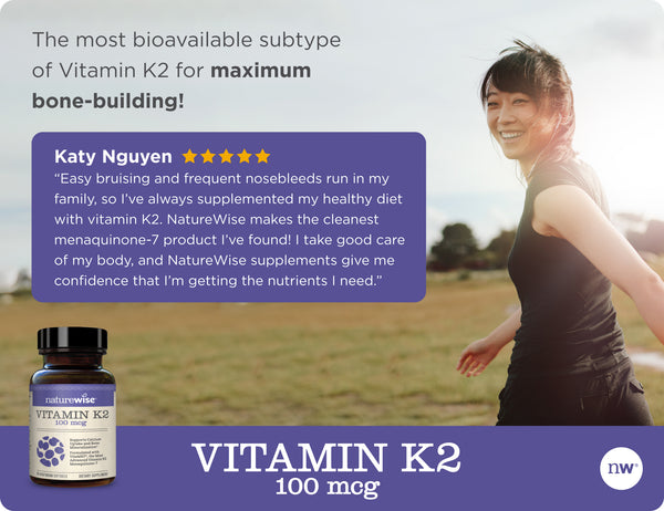 Vitamin K2 with VitaMK7®- 90 Softgels