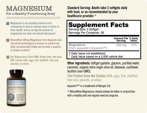 Magnesium - sup facts