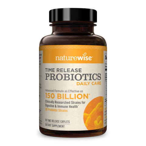 Daily Care Probiotics With WiseBiotics®
