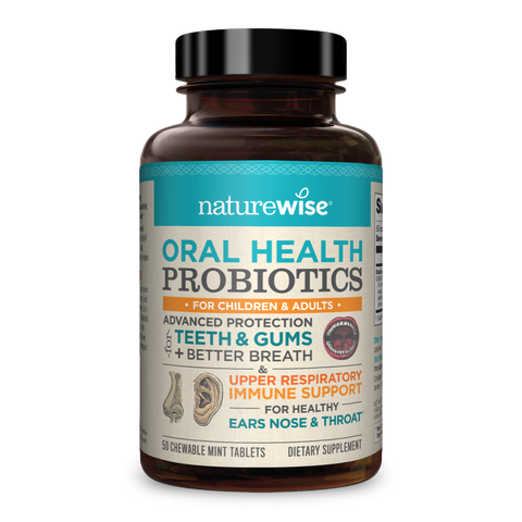 Oral Health Probiotics - Chewable Tablets