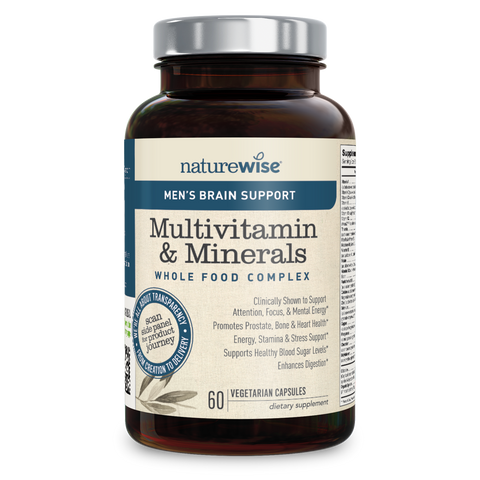 Men's Multivitamin with Brain Support Bottle