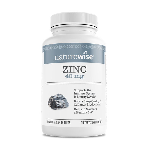Zinc 40mg, 90 Count Vegetarian Tablets