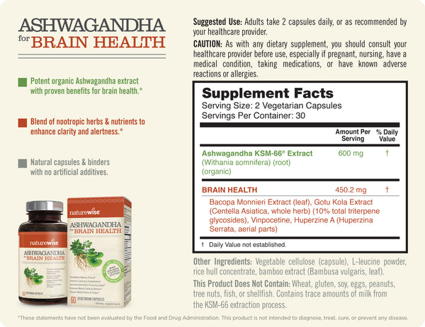 Ashwagandha for Brain Health Facts 1