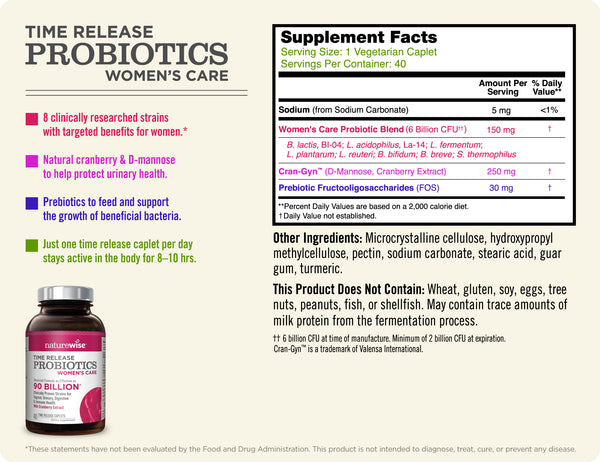 Women's Care Probiotics 3-Pack With WiseBiotics
