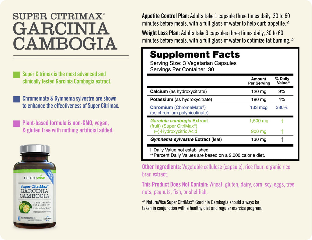 Super Citrimax Garcinia Cambogia Extract The Most Clinically