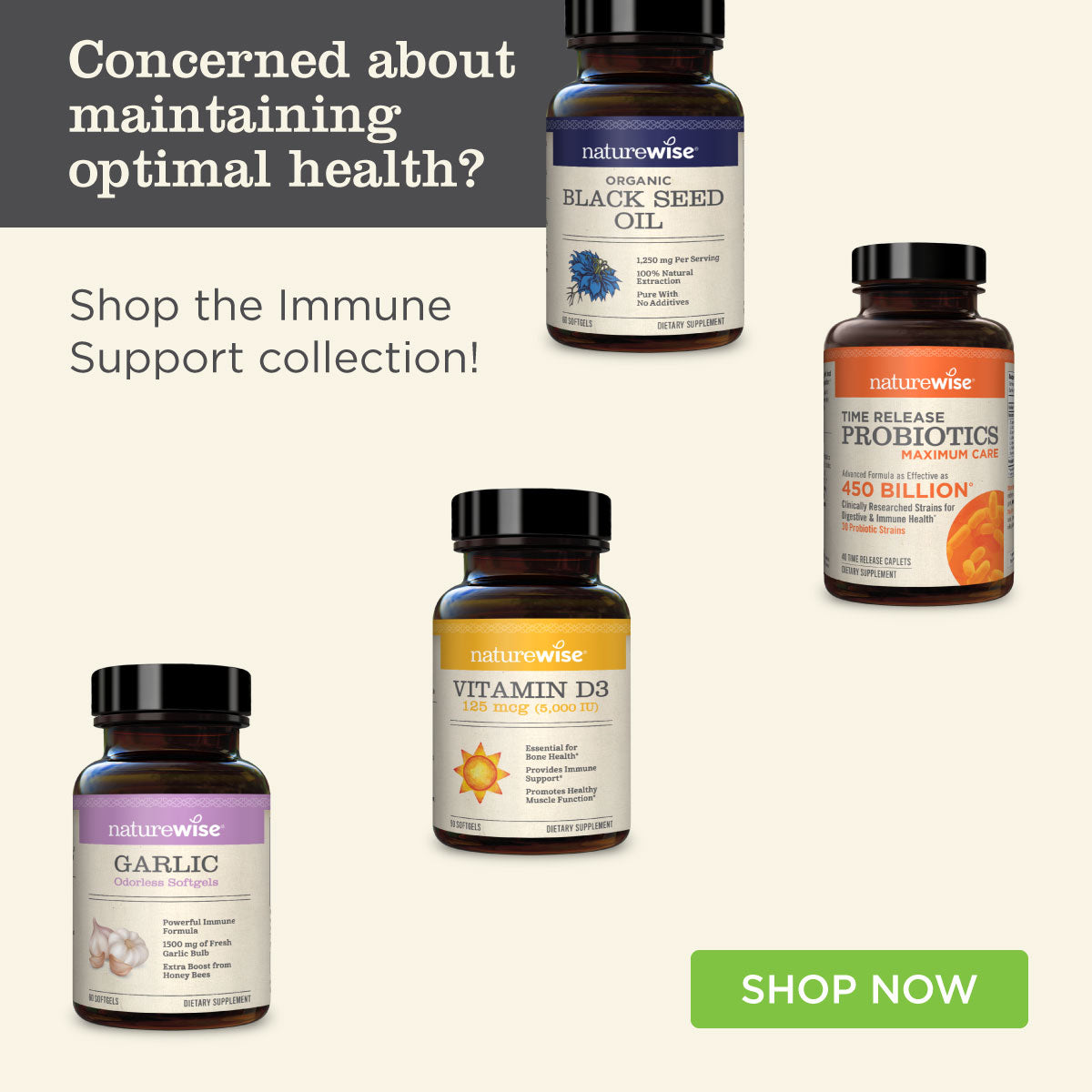 Get 20% off the Immune Support Collection