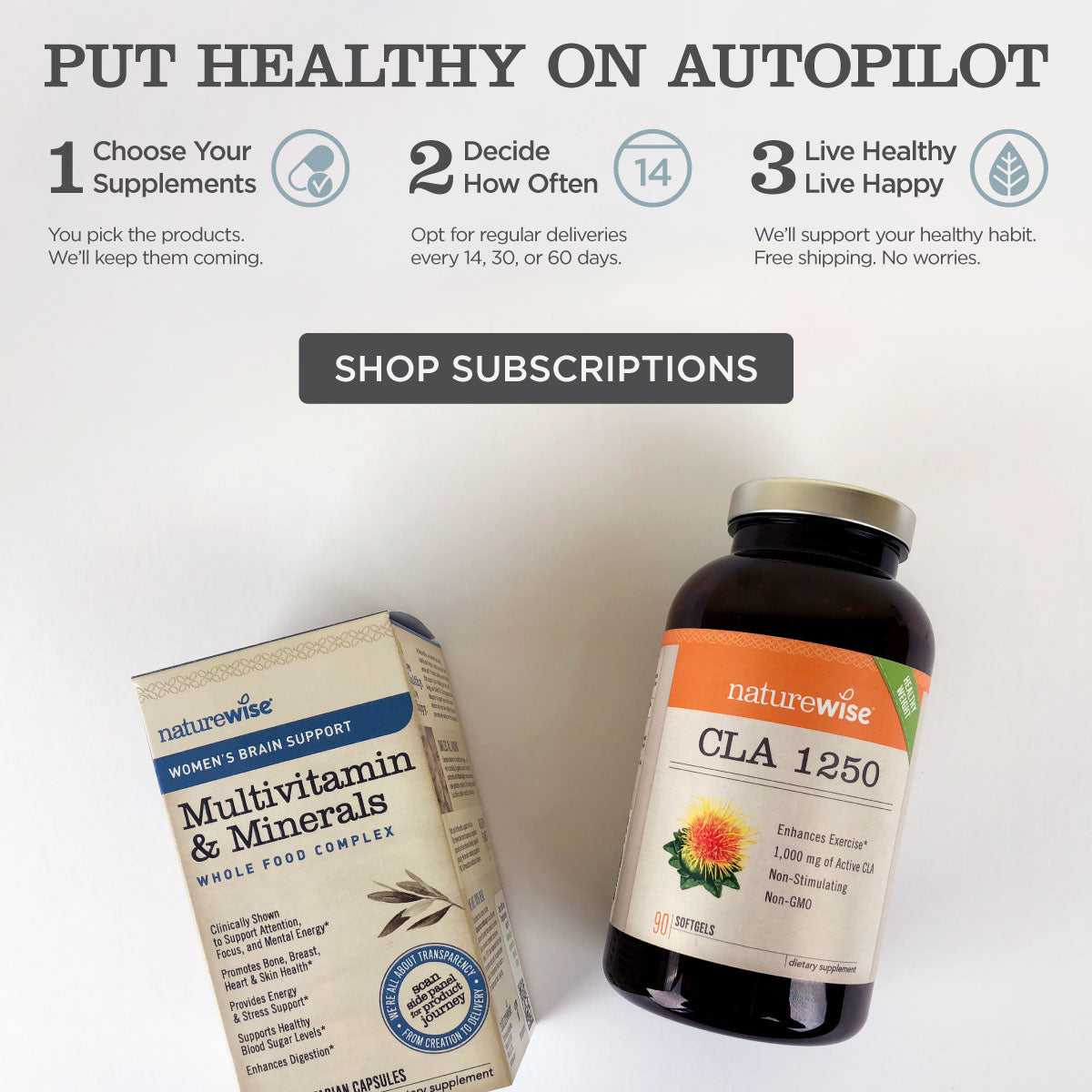 Subscribe & Save 10%. Take a journey to a healthier, happier you.