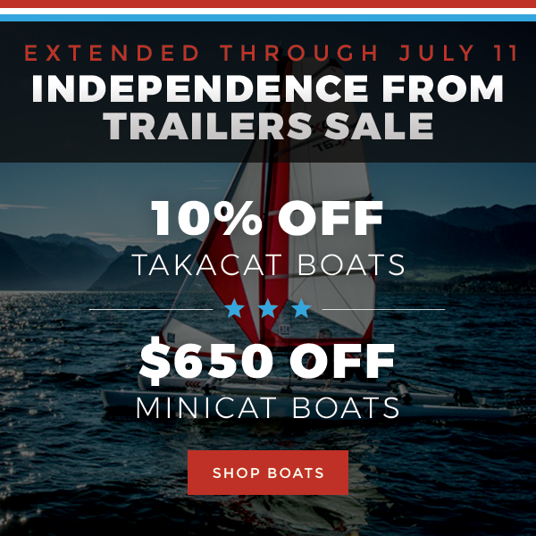 Independence from Trailers Sale