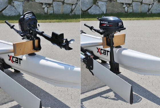 X-Cat Extra Crossbar with Outboard Bracket