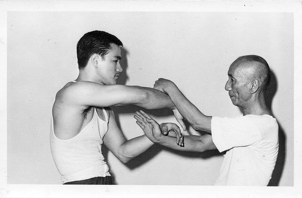 Yip Man Training Bruce Lee