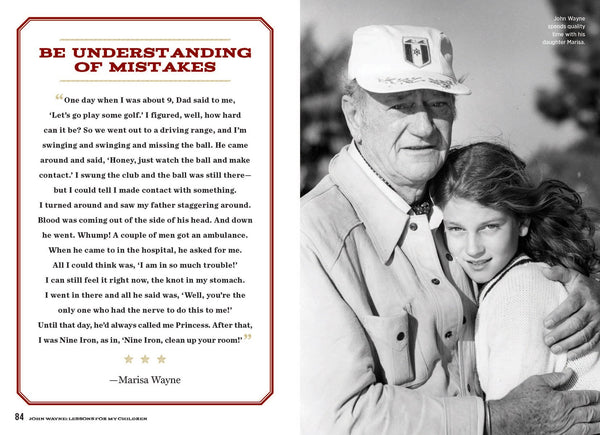 Inside John Wayne Lessons for My Children with Marisa Wayne