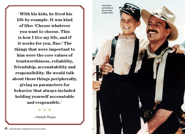 Inside John Wayne: Lessons for My Children with Patrick Wayne