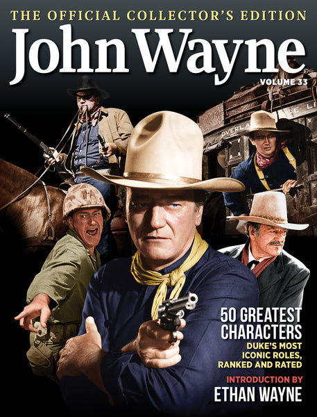 John Wayne Magazine Volume 33 Greatest Roles Cover