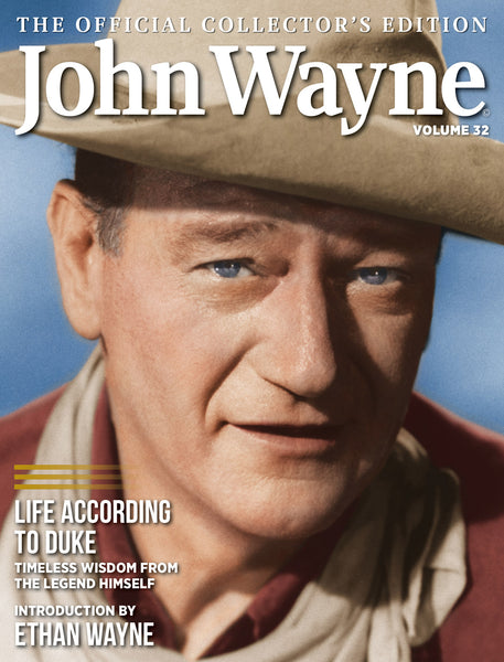 John Wayne Magazine Volume 32 Cover