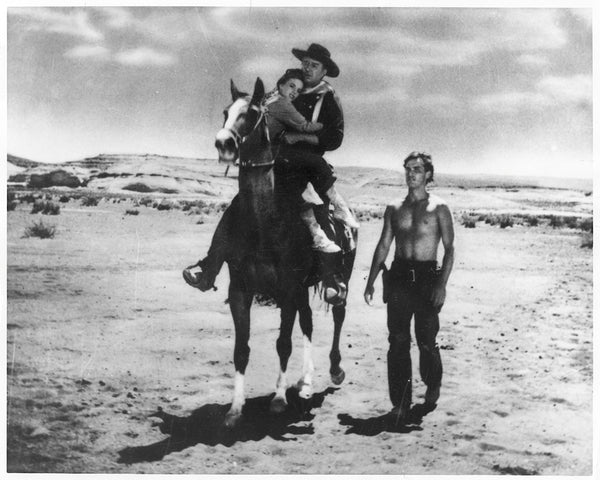 Movie Still of John Wayne in The Searchers