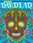 Adult Coloring Book Day of the Dead Vol. 2 Cover Blue Background
