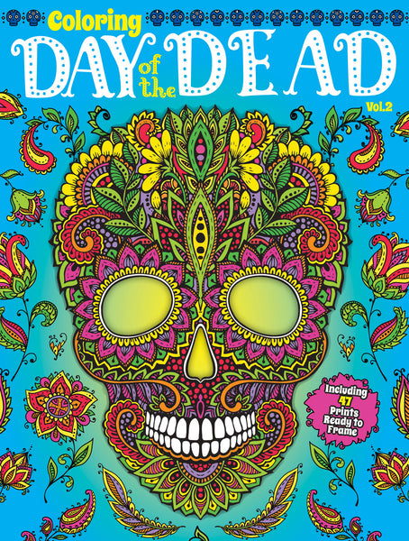 Coloring: Day Of The Dead, Vol. 2 – Media Lab Publishing