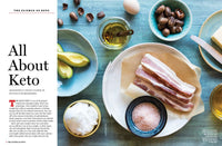 All About Keto article with image of bacon and salt