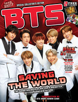 BTS Saving the World 2020 Magazine Cover