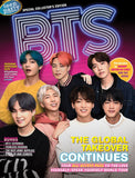 BTS magazine cover picturing members of boy band