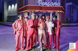 image of BTS band members from music video with singer Halsey