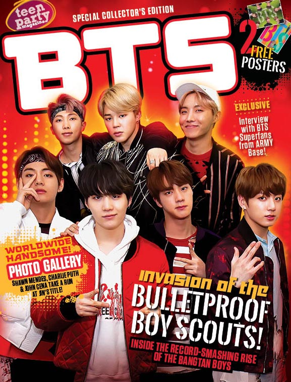 Teen Party Special Edition Bts Media Lab Publishing