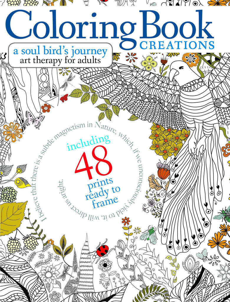 Coloring Book Creations: A Soul Bird's Journey
