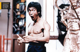 photo of Bruce Lee from Official Collector's Edition Magazine Volume 4