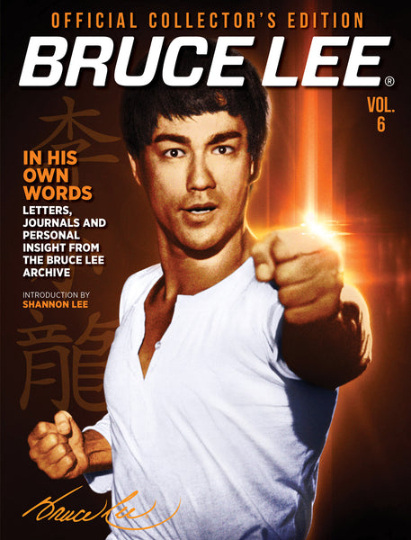 Bruce Lee Official Collector's Edition Magazine Volume 6 Cover