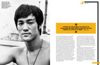 Bruce Lee Official Collector's Edition Magazine Volume 6 His Life Spread