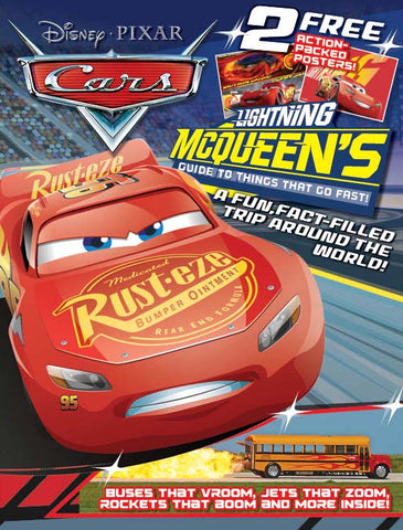 Disney/Pixar: Cars 3—Lightning McQueen's Guide to Things that Go Fast