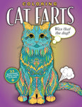 Cat Farts Coloring Book Cover