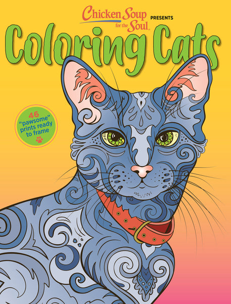 Chicken Soup for the Soul Coloring Cats Volume 1 Cover
