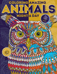 Coloring Amazing Animals: Night & Day