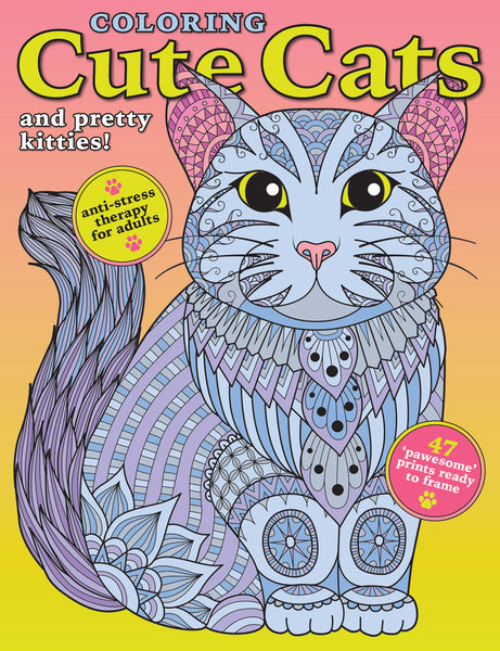 Coloring Cute Cats and Pretty Kitties