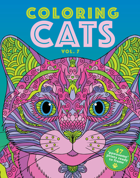 Coloring Cats: Vol. 7