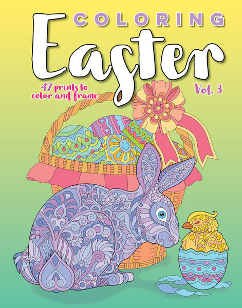 Coloring Easter, Vol. 3
