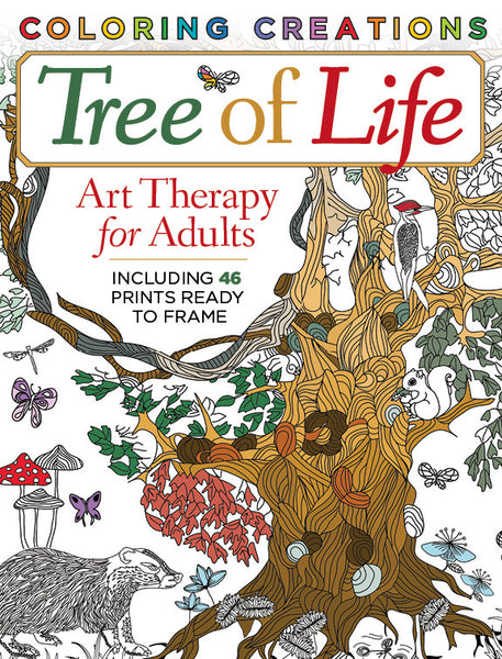 Coloring Creations: Tree of Life