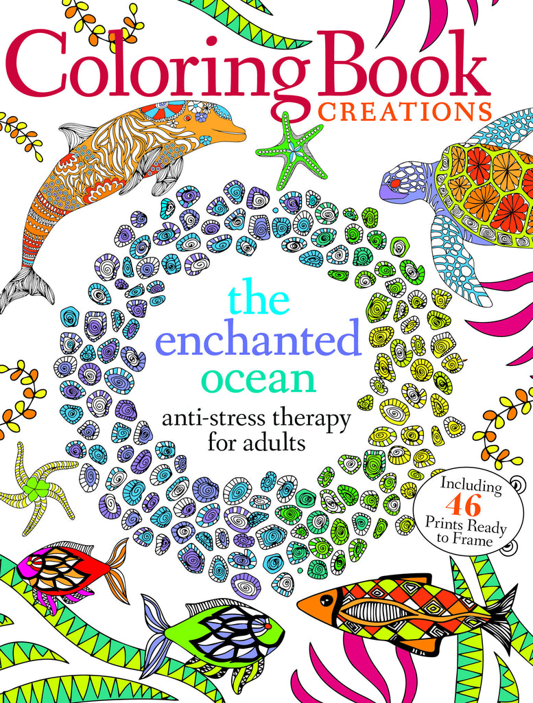 Coloring Book Creations: The Enchanted Ocean