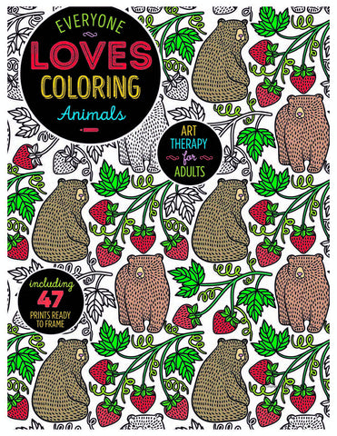 Everyone Loves Coloring: Animals