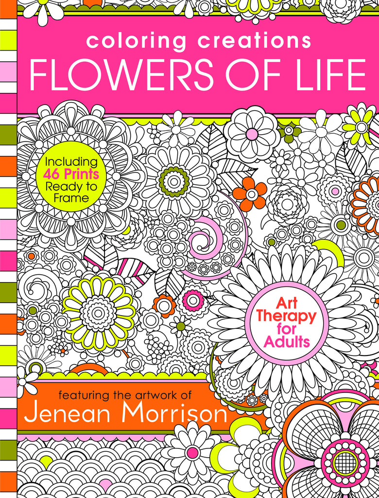 Coloring Creations: Flowers of Life