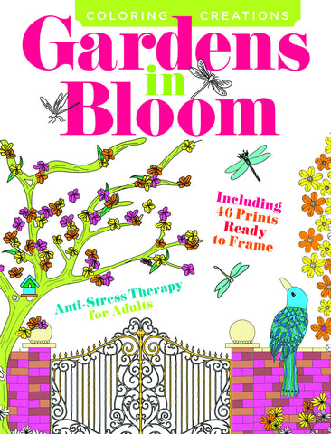 Coloring Creations: Gardens in Bloom