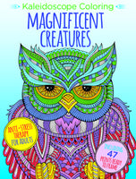 Kaleidoscope Coloring: Magnificent Creatures