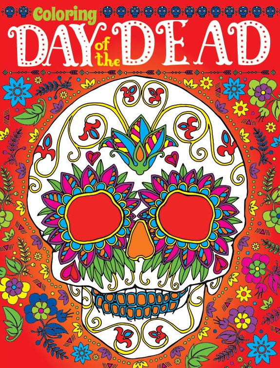 Coloring Day of the Dead