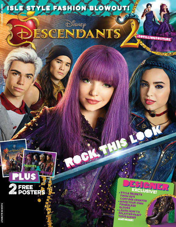 Disney Descendants 2 Rock This Look