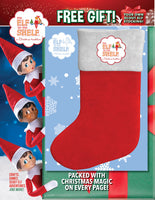 Elf on the Shelf Magazine with Stocking