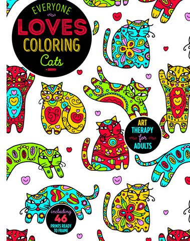 Everyone Loves Coloring: Cats