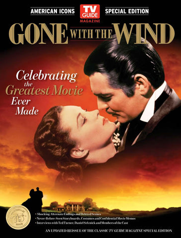 TV Guide Magazine: Gone With the Wind