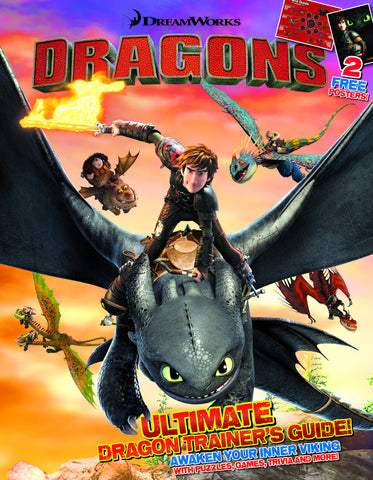 DreamWorks Dragons: Ultimate Dragon Trainer's Guide